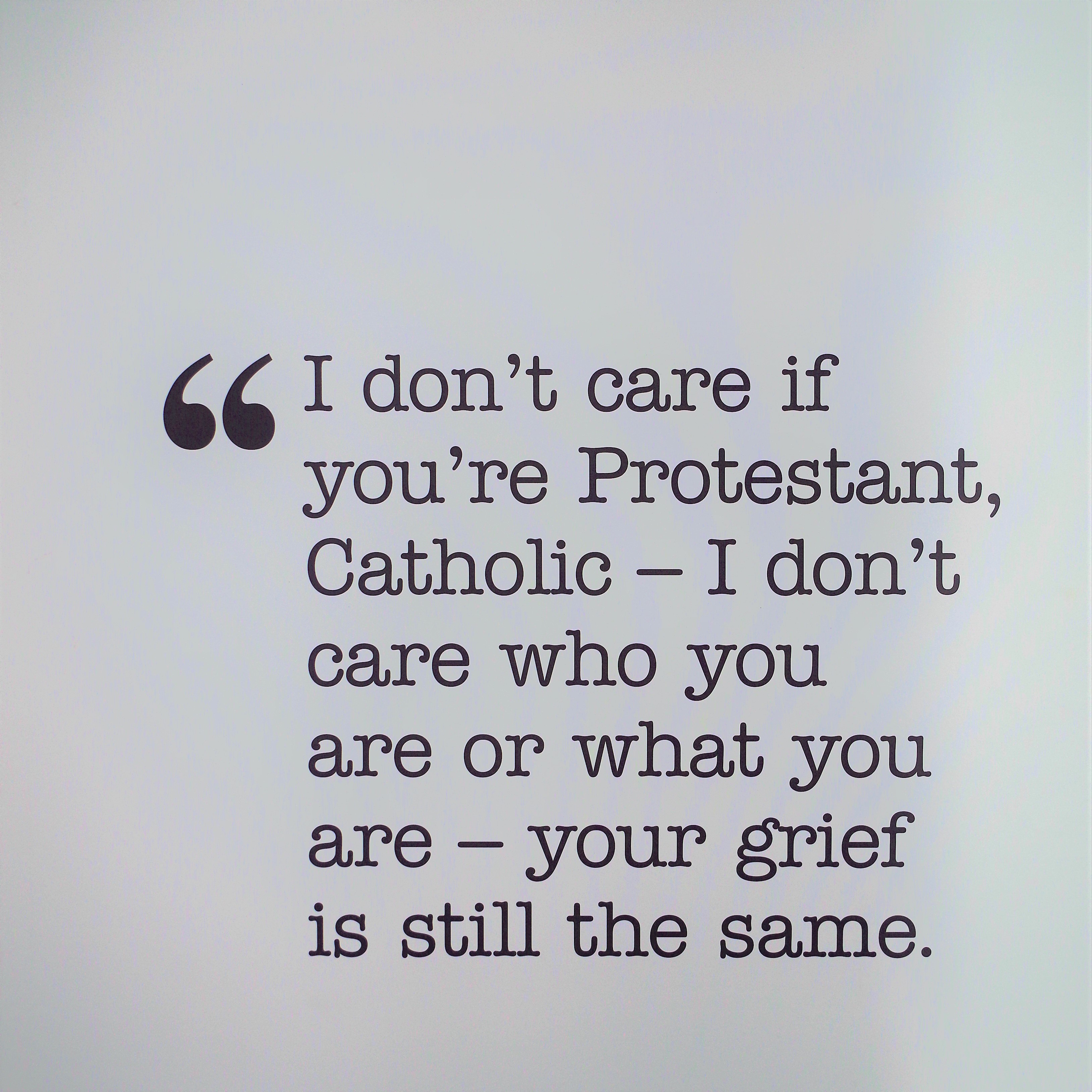 What to say to a widow when grieving